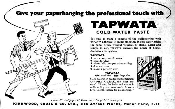 Tapwata wallpaper paste