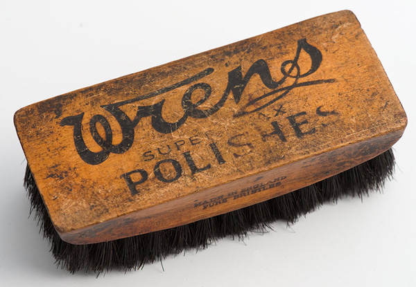 Wren's polish brush