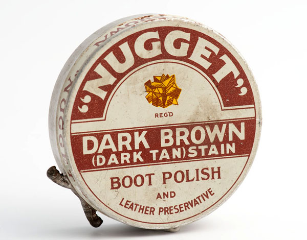 Nugget dark brown boot polish