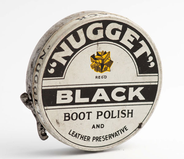 Nugget black boot polish