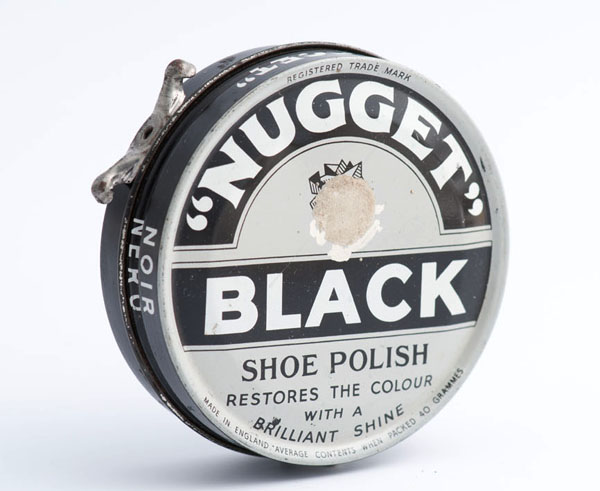 Nugget black shoe polish