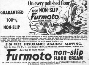 Furmoto non-slip floor polish