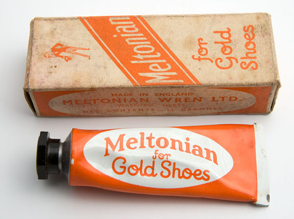 Meltonian gold shoe cream