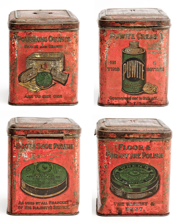 William Wren's advertising tin