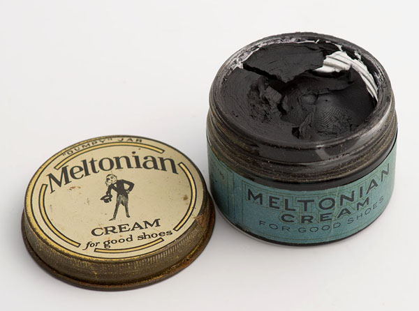 Meltonian black shoe cream