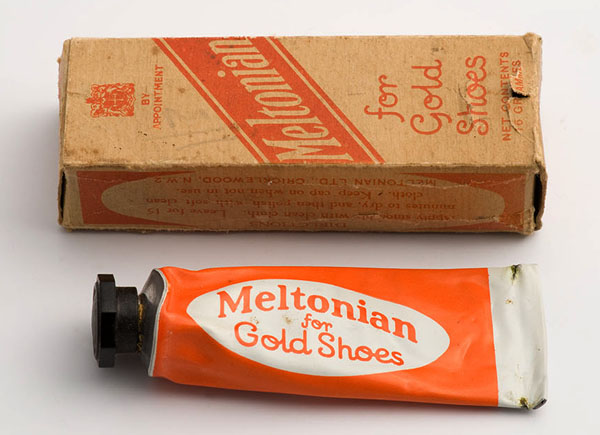 Meltonian cream for gold shoes